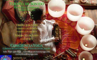Conciertos de Sanación, Taller de Voz y Canto armónico.