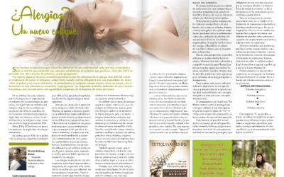 ¿Alergias? Lee mi artículo en la revista Espacio Humano de Mayo.